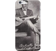 Blind Blake - Cordially Yours iPhone Case/Skin