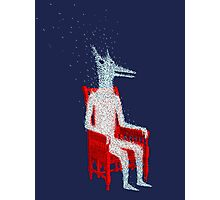 Haunted Chair Photographic Print