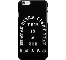Ultralight Beam - Black and White iPhone Case/Skin