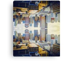 Inverted City Canvas Print
