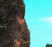 James Bond rock in the Phang Nga Bay Sticker