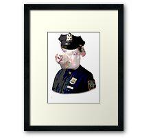 Pig Patrol Framed Print