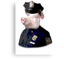 Pig Patrol Canvas Print