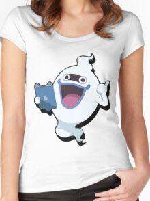 Yokai Watch : Whisper 3 Women's Fitted Scoop T-Shirt