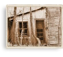 """""""Tennessee Mountain Home""""... prints and products Canvas Print"""
