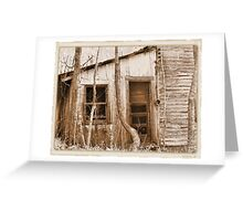 """""""Tennessee Mountain Home""""... prints and products Greeting Card"""