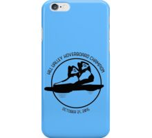 Hill Valley Hoverboard Champion iPhone Case/Skin