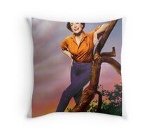 Colorized Joan Crawford 1964 Throw Pillow