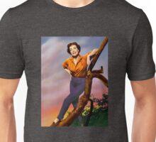 Colorized Joan Crawford 1964 Unisex T-Shirt