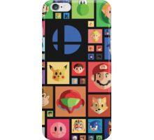 Super Smash bros 4 iPhone Case/Skin