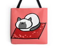 Sleeping Marshmallow Tote Bag