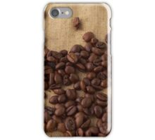 scattered coffee bean iPhone Case/Skin