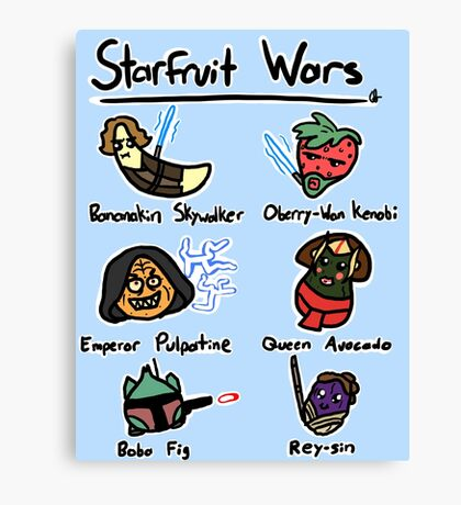 Starfruit Wars Canvas Print