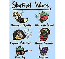 Starfruit Wars Photographic Print