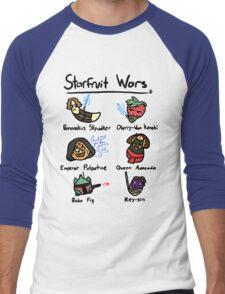 Starfruit Wars Men's Baseball ¾ T-Shirt