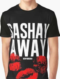 Sashay Away black Graphic T-Shirt