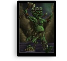 Goblin Barbarian Canvas Print