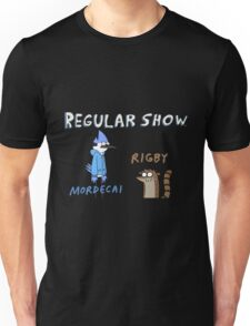 Regular Show Rigby and Mordecai Unisex T-Shirt