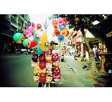 door to door, phnom penh, cambodia Photographic Print