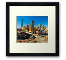 Downtown OKC by Monique Ortman Framed Print