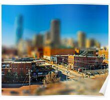 Downtown OKC by Monique Ortman Poster