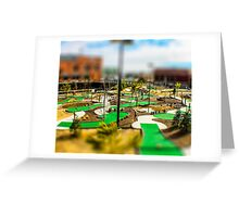 Putt Putt Golf Course by Monique Ortman Greeting Card
