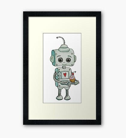 Robot Framed Print