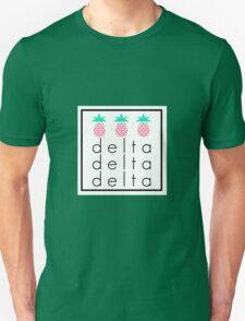 Tri Delta Tri Pineapple Unisex T-Shirt
