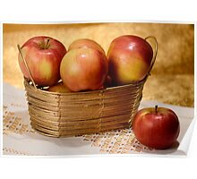 Apples in Gold Poster