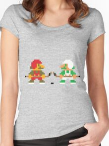 Super Puck Bros. Women's Fitted Scoop T-Shirt