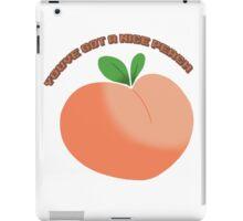 Nice Peach iPad Case/Skin