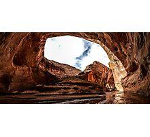Hiking Escalante Photographic Print