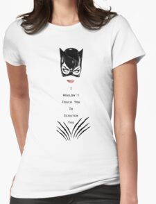 Catwoman Returns Womens Fitted T-Shirt