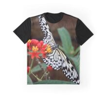 Tree nymph butterfly feeding Graphic T-Shirt