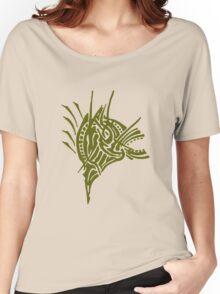 Abstract Zebra Women's Relaxed Fit T-Shirt