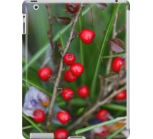 Berries on a Cotoneaster bush iPad Case/Skin