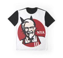 KFC NYA (Meow) Graphic T-Shirt