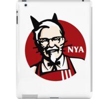 KFC NYA (Meow) iPad Case/Skin