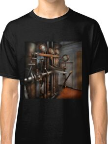 Steampunk - Controls - The Steamship control room Classic T-Shirt