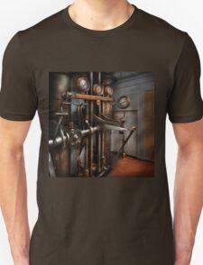 Steampunk - Controls - The Steamship control room T-Shirt