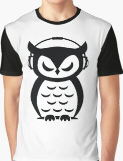 Nocturnal Beats Graphic T-Shirt