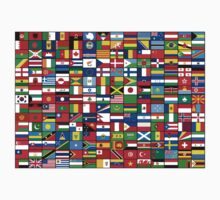 The World's Flags One Piece - Long Sleeve