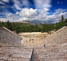 The Ancient Theater of Epidaurus by Hercules Milas