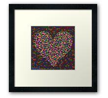 Revenge of the Heart Framed Print