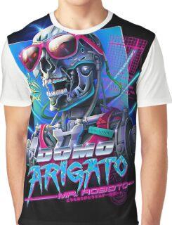 Domo Arigato Mr. Roboto Graphic T-Shirt