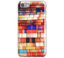Blankets in Colorful Patterns iPhone Case/Skin