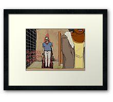The Thistle Man Framed Print
