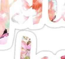 Alpha Love (ADPi) Floral Sticker