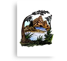 The Outdoors Canvas Print