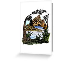 The Outdoors Greeting Card